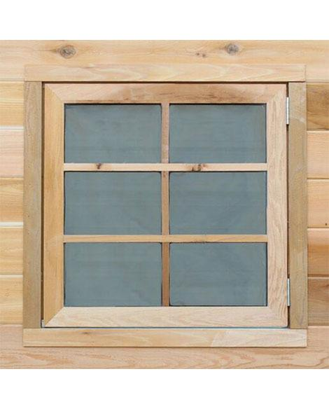 stilla opening cedar window