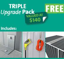 Free Triple Upgrade Pack