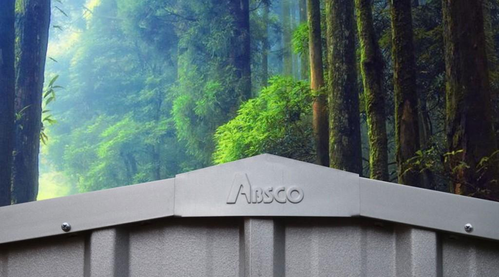 outdoor absco sheds