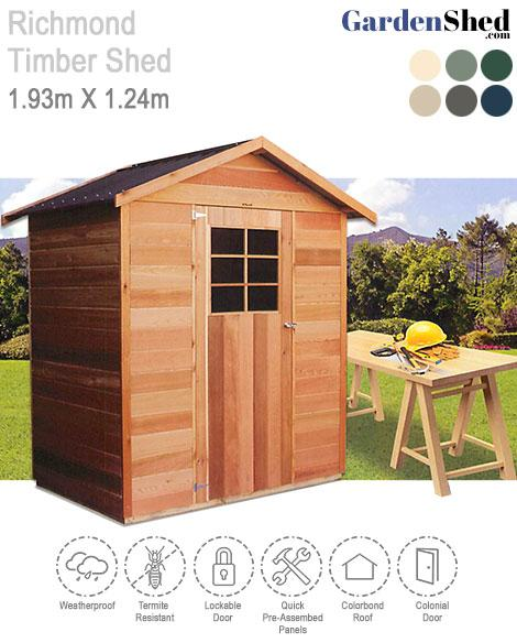 Stilla Cedar Shed Richmond