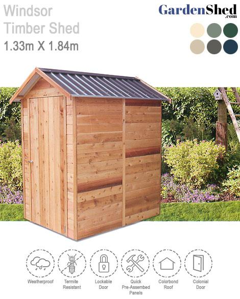 Stilla Cedar Shed Windsor