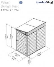 palram-skylight-pent-4×6-02