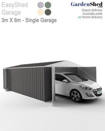 Single Garage EasyShed 6x3