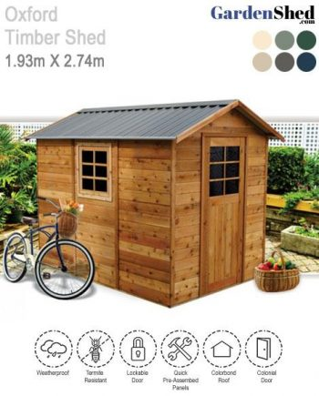 Cedar Shed Oxford