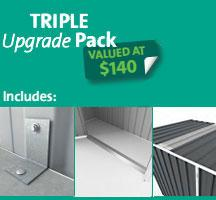 EasyShed Triple Upgrade Pack