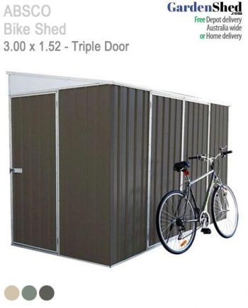 Absco Bike Shed Storage