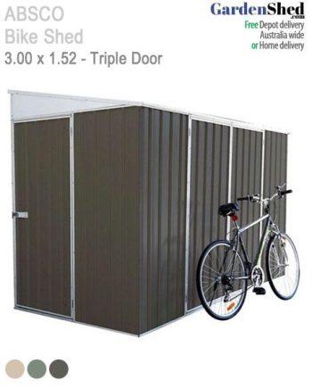 Absco Bike Shed Storage