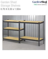storage shelves 1.50m high