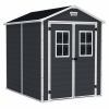 Manor 6×8 Keter Resin Garden Shed 1.85m x 2.36m x 2.27m