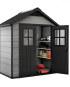 Oakland 754 Keter Resin Garden Shed 2.10m x 1.248m x 2.53m