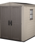 Factor 6×6 Keter Garden Shed 1.78m x 1.95m x 2.08m